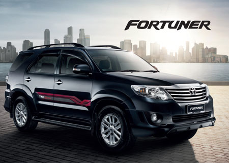 Toyota Fortuner Rent